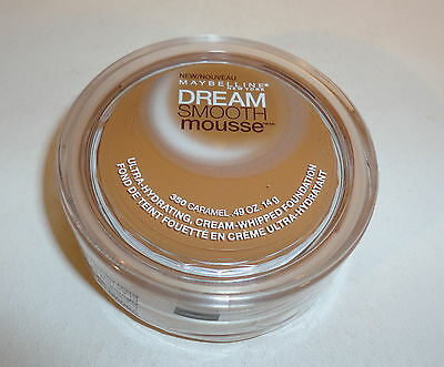 Maybelline~ DREAM SMOOTH MOUSSE Cream Whipped Foundation - 350 CARAMEL