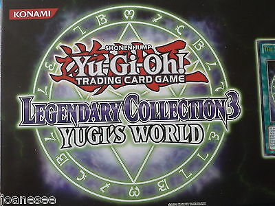 LCYW Rare Cards Single Take Your Pick New Mint Yu-gi-oh Legendary Collection 3