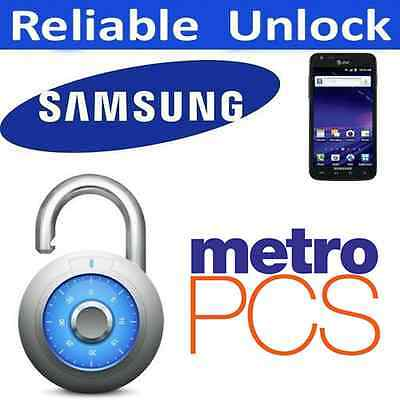 MetroPCS USA SAMSUNG Galaxy S4 S3 S2 Note II UNLOCK CODE for MADE IN CHINA phone