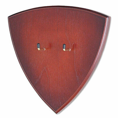 "WALL HANGER DISPLAY | 10"" x 9"" x 1"" Wood Universal Plaque - Knife Sword Gun"
