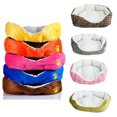New S Size Small Pet Dog Cat Soft Fleece Warm Cotton Bed House Cozy Mat Pad Nest
