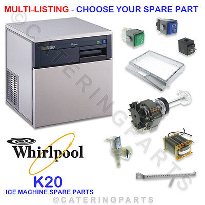 Whirlpool K20 Ice Maker Machine Spare Parts - Multi Listing - Choose Your Spares