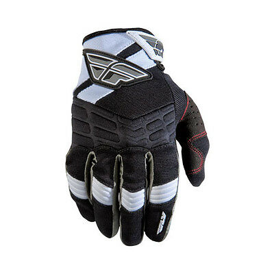 New Fly Racing F16 Riding Gloves 2012 Black/White 13