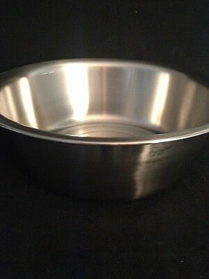 "NEW VOLLRATH Stainless Steel Wash Basin 87360 14.5""x5"""