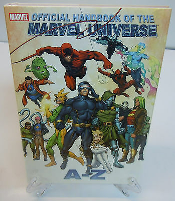 Official Handbook of the Marvel Universe A to Z Vol 3 Hard Cover New Sealed HC