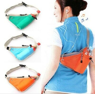 Unisex Jogging Hiking Cycling Outdoor Sports Waist Belt Bum Pocket Bag Pouch