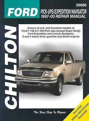 CHILTON'S, FORD Pick-up/Expedition/Navigator, 1997-00, #26666 Auto Repair Manual