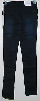 JOE'S JEANS Girls The Jegging ultra slim fit Stretch in Super Smooth Black sz 12
