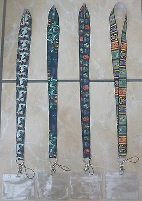 Harry Potter Lanyard / Neck Strap for Pin Trading inc. Waterproof Holder