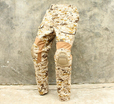 New TMC CP Gen2 style Tactical Army Military Combat Pants with Pad set AOR1