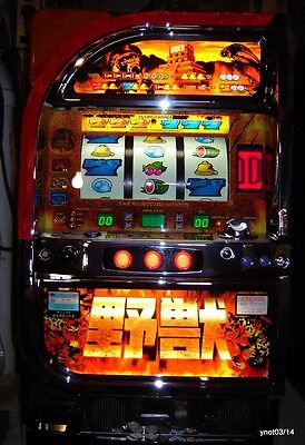 SURVIVAL Big Cat Pachislo SLOT MACHINE Led screen casino Vegas action~in Box!