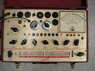 Hickok Model 800 Micromho Dynamic Mutual Conductance Tube Transistor Tester