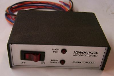 Henderson HX21321, Control Console for PWSH-1 Hydraulic Pre-Wetting System - New