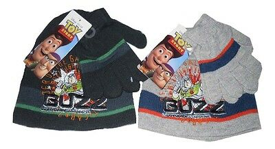 Boys Hat And Gloves Set Disney Toy Story 2-8 Years Old