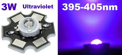 Hi-Power LED 1W/3W UV STAR Ultraviolet