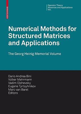 Numerical Methods for Structured Matrices and Applications PORTOFREI
