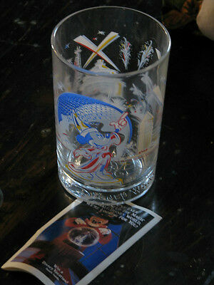 "Disney World ""Remember the Magic"" Drinking glass"