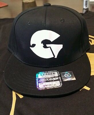 Wu-tang GZA snapback hat black one size fits all new