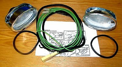 1957 57 Chevy Chevrolet Tail Light Harness Ends, New, Usa ...  Chevrolet Tail Light Wiring on