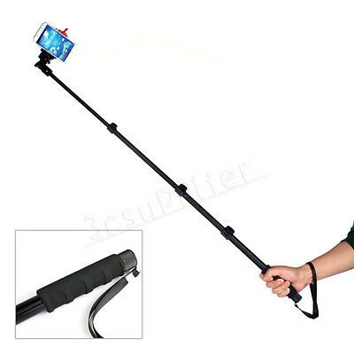 1Set Heavy Duty Monopod + Clamp+ Tripod Mount Adapter For Camera Gopro Cellphone