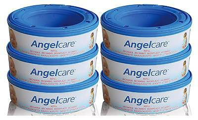 Angelcare MultiLayer Nappy Disposal Cassette x 6 Pack