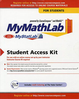 MyMathLab Student Access Kit Code !! Instant Delivery !!