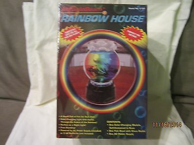 Miracle Beam Rainbow House - Color Changing Fish Tank NEW