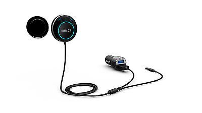 Genuine Himbox NEW Bluetooth 4.0 Hands-Free Car Kit Wireless USB Magnetic Base