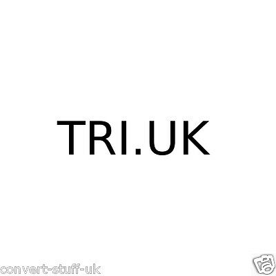 tri.uk sports domain name. Suitable for Triathalon related sporting website