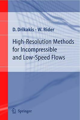 High-Resolution Methods for Incompressible and Low-Speed Flows DHL-Versand
