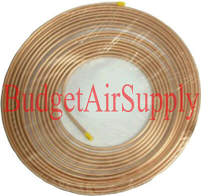 "1/2""od  x 50ft Soft Copper Tubing Refrigeration Hvac 1/2""outside diameter"