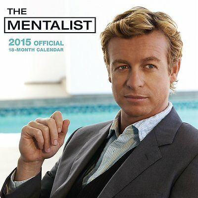 2015 The Mentalist Monthly Wall Calendar