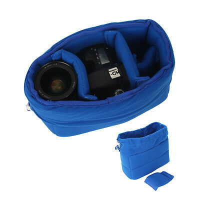 High Quality DSLR Camera Insert Padded Partition Lens Bag For Canon Nikon Sony