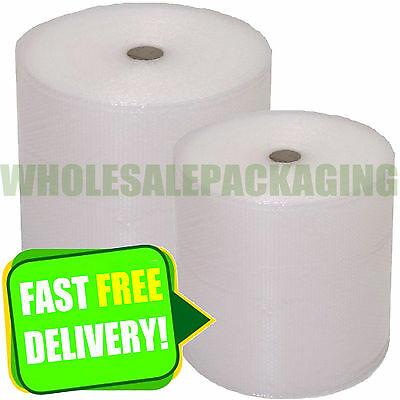 SMALL BUBBLE WRAP ROLLS - CHOOSE WIDTH (300mm, 500mm, 750mm)
