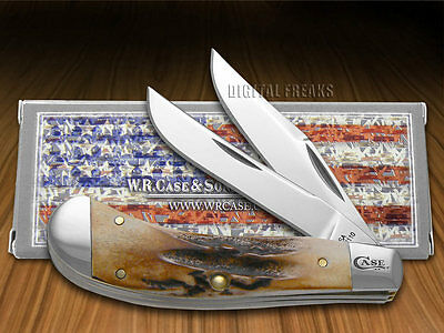 CASE XX Prime Stag Saddlehorn Stainless Pocket Knife Knives