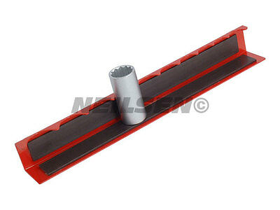"½"" Drive Magnetic Socket Rack Garage Socket Tray holder For Tool Chest 1905"