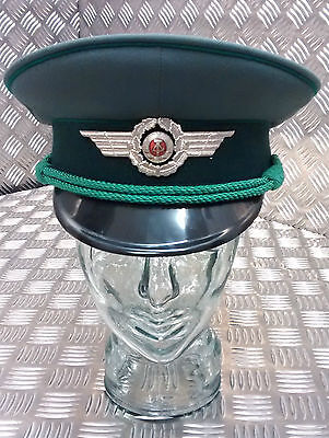 Genuine DDR German Officers Cap / Hat. Army / Guards - All Size - NEW