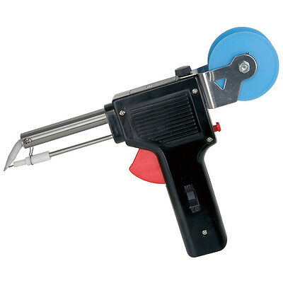 Electric Soldering Gun Iron With Auto Solder Feed - One Hand Soldering