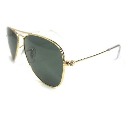 Ray-Ban Junior Sunglasses 9506 223/71 Gold Green