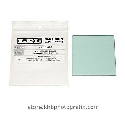 Heat Absorbing Glass for LPL and Saunder/LPL C6600, and LPL 66-SIIEnlargers