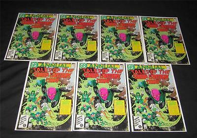 Tales Of The Green Lantern Corps annual 2 lot of 7 copies VF Alan Moore