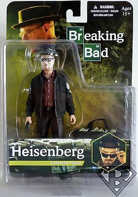 "WALTER WHITE HEISENBERG Breaking Bad 6"" Super Detailed Action Figure Mezco 2013"