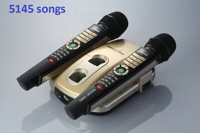NEW Magic Sing ET23KH 2 wireless mic with 5145 Tagalog-English songs