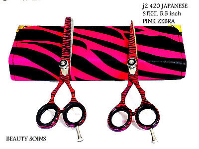 Hairdressing & Hair Thinning scissors Barber Shears Hair Cutting Set 5.5""