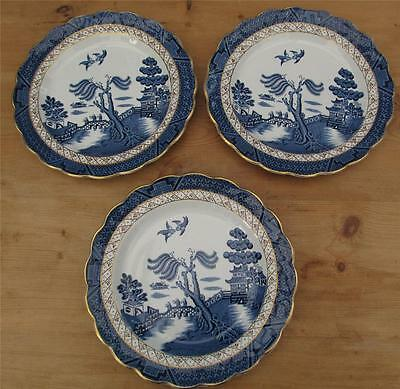 Booths Real Old Willow Plates 10 Inch Set of 3    £22.99 (Post Free UK)