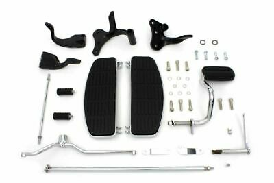 Complete Floorboard Footboard Kit Floorboards Foot Boards 1996-2017 Harley Dyna