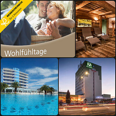 3 Wellness days for 2 in round 80 Hotels Short Travel Voucher Vacation WOW