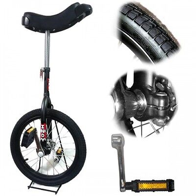 """16"""" Indy Trainer Unicycle - 4 Colours Available  + Instructional Book (optional)"""