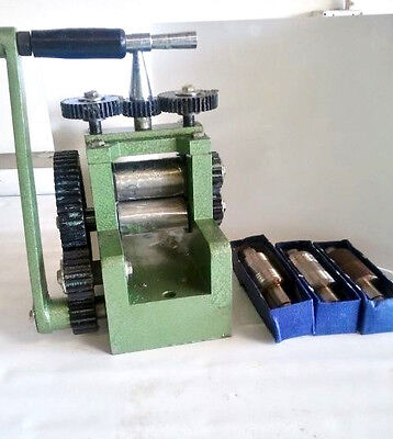 rle 80mm ROLLING MILL with 5 DIFFERENT ROLLERS, BRAND NEW