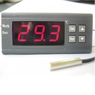 WH7016C Automatic Digital Temperature Controller Thermostat 220V Control Switch